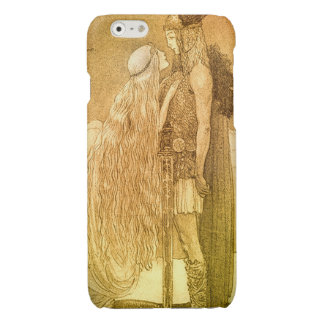 Freyja and Svipdag by John Bauer 1911 Glossy iPhone 6 Case