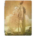 Freyja and Svipdag by John Bauer 1911 iPad Cover