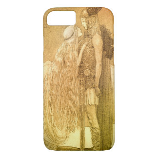Freyja and Svipdag by John Bauer 1911 iPhone 8/7 Case