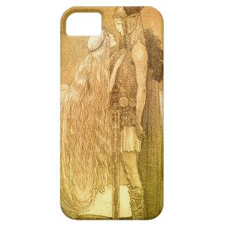 Freyja y Svipdag de Juan Bauer 1911 iPhone 5 Case-Mate Protectores