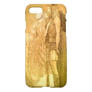 Freyja y Svipdag de Juan Bauer 1911 Funda Para iPhone 7