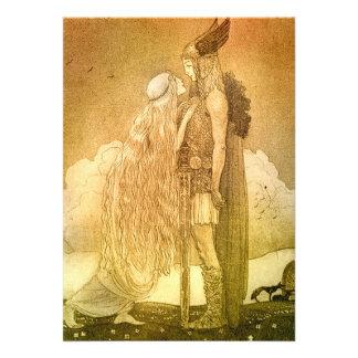 Freyja y Svipdag de Juan Bauer 1911 Comunicados