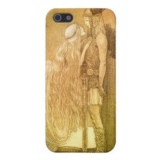 Freyja y Svipdag de Juan Bauer 1911 iPhone 5 Fundas