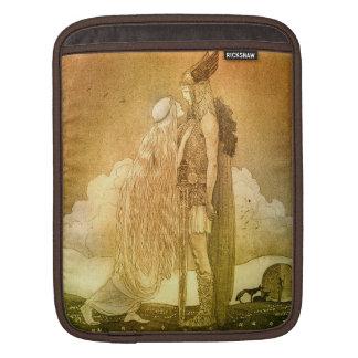Freyja y Svipdag de Juan Bauer 1911 Mangas De iPad