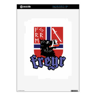 Freyr Crest iPad 2 Decals
