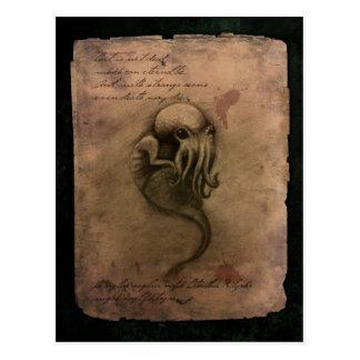 Freza de Cthulhu Tarjetas Postales