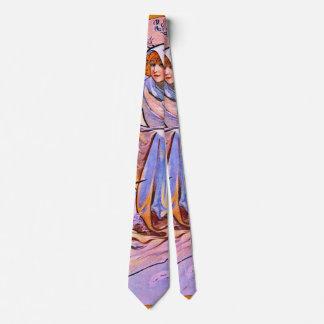 Frialdad 1895 del invierno corbata