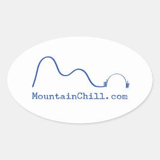 Frialdad de la montaña - pegatina para el