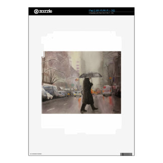 Frialdad de Nueva York iPad 2 Calcomanía