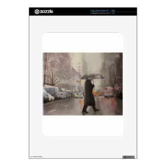 Frialdad de Nueva York iPad Calcomanía