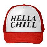 frialdad del hella gorra