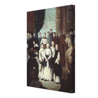 Friars in Venice Canvas Print