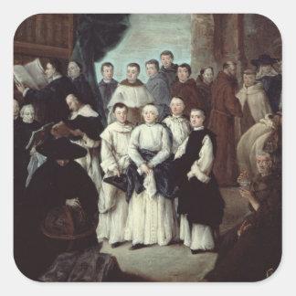 Friars in Venice Square Sticker