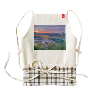 Fribourg city, Switzerland Zazzle HEART Apron