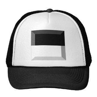 Fribourg Flag Gem Mesh Hats