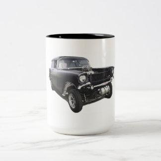 Fricción 1957 del gasser del carro de la entrega d taza dos tonos