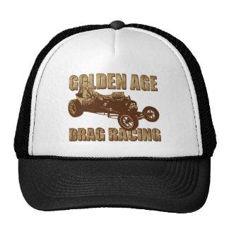 fricción de la época dorada que compite con la bas gorras de camionero