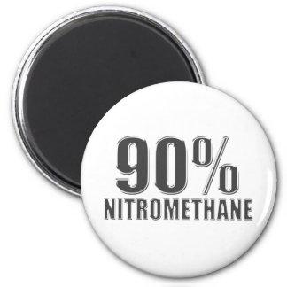 Fricción del nitrometano que compite con el combus imán de frigorífico