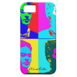 Frida Kahlo Andy Warhol Inspired Portrait iPhone 5 Cover