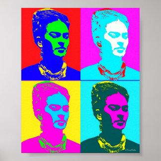 Frida Kahlo Andy Warhol inspiró el retrato Impresiones