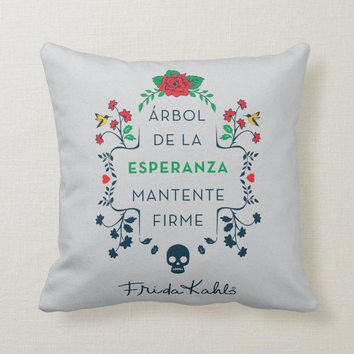 Frida Kahlo árbol De La Esperanza Throw Pillow Zazzle Com