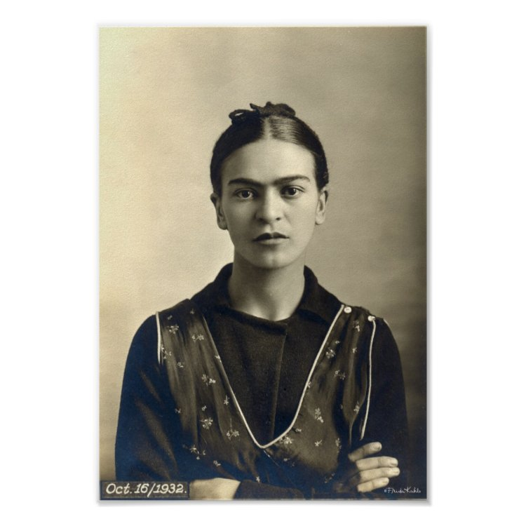 Frida Kahlo Arms Crossed