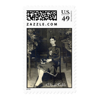 Frida Kahlo asentó Sellos Postales