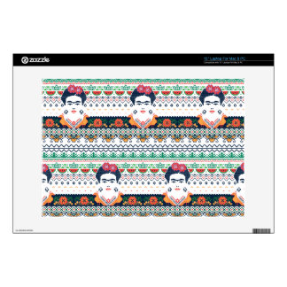 "Frida Kahlo | Aztec 13"" Laptop Skin"