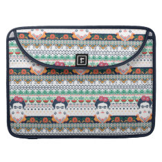 Frida Kahlo | Aztec Sleeve For Macbook Pro at Zazzle