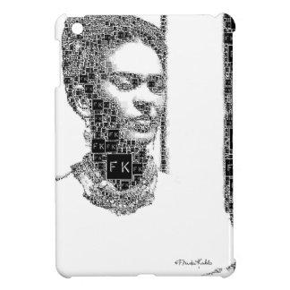 Frida Kahlo Black and White Portrait iPad Mini Covers