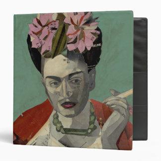 Frida Kahlo by Garcia Villegas 3 Ring Binder