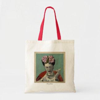 Frida Kahlo by Garcia Villegas Tote Bags