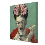 Frida Kahlo by Garcia Villegas Canvas Print