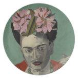 Frida Kahlo by Garcia Villegas Dinner Plates