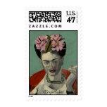 Frida Kahlo by Garcia Villegas Postage Stamp