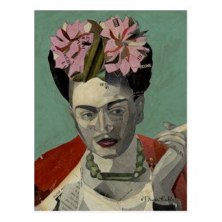 Frida Kahlo by Garcia Villegas Postcard