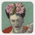 Frida Kahlo by Garcia Villegas Square Sticker