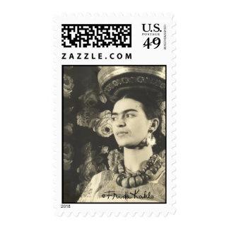 Frida Kahlo con Charola Original Postage