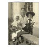Frida Kahlo con los niños Tarjeta