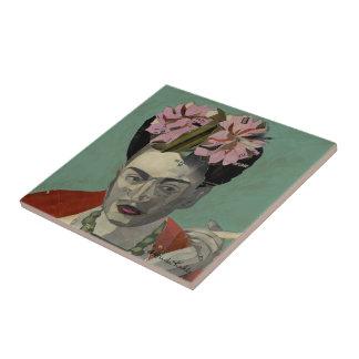 Frida Kahlo de García Villegas Azulejo Cuadrado Pequeño