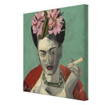 Frida Kahlo de García Villegas Lona Envuelta Para Galerías