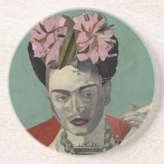 Frida Kahlo de García Villegas Posavasos Para Bebidas