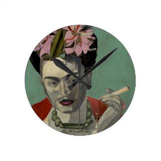 Frida Kahlo de García Villegas Reloj De Pared