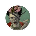 Frida Kahlo de García Villegas Reloj Redondo Mediano