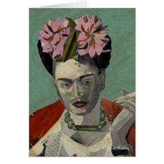 Frida Kahlo de García Villegas Tarjeta De Felicitación
