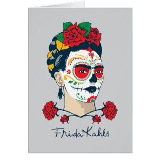 Frida Kahlo | El Día de los Muertos Card