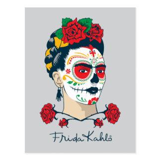Frida Kahlo | El Día de los Muertos Postcard