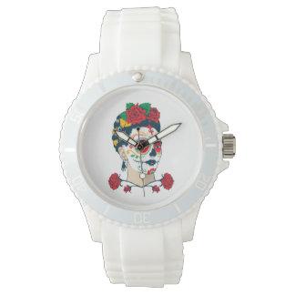 Frida Kahlo   El Día de los Muertos Wrist Watch