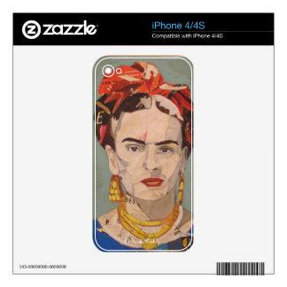 Frida Kahlo en Coyoacán Portrait iPhone 4S Skin