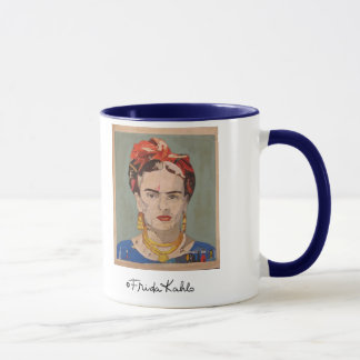 Frida Kahlo en Coyoacán Portrait Mug